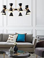 cheap -LED Pendant Light 45 cm Dimmable Globe Design Circle Design Flush Mount Lights Acrylic Artistic Style Formal Style Modern Style Black Artistic Nordic Style 220-240V
