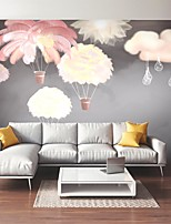 cheap -Mural Wallpaper Wall Sticker Covering Print Custom Peel and Stick Removable Self Adhesive Cartoon Feather Cloud PVC / Vinyl Home Decor