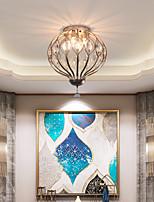 cheap -LED Ceiling Light 24/43/58 cm Island Design Flush Mount Lights Metal Vintage Style Brushed Painted Finishes Vintage Country 220-240V