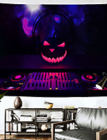 """cheap -Halloween Wall Tapestry Art Decor Blanket Curtain Hanging Home Bedroom Living Room Decoration""""+(Psychedelic Haunted Scary Pumpkin Skull Skeleton Bat Castle Grim Reaper Polyester"""