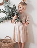 cheap -jy high-end spring autumn kids little girls dresses hollow out designer sweater quality children princess dress bountique clothes 2122 q2