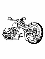 cheap -motocross wall stickers motorcycle sports wall decals excellent vinyl wall decor for boys room living room (size 17 x 25.5 inch)