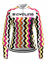 cheap -21Grams Women's Long Sleeve Cycling Jersey Spandex Polyester Yellow Funny Bike Top Mountain Bike MTB Road Bike Cycling Quick Dry Moisture Wicking Breathable Sports Clothing Apparel / Stretchy