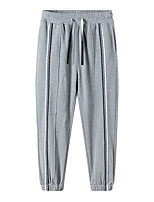 cheap -Men's Sweatpants Running Pants Hiking Pants Trousers Drawstring Winter Outdoor Windproof Soft Stretchy Comfortable Elastane Elastic Waist Bottoms Grey White Black Winter Sports S M L XL XXL