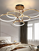 cheap -LED Ceiling Light 65 cm Lantern Desgin Flush Mount Lights Metal Electroplated Modern 220-240V