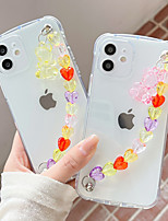cheap -Phone Case For Apple Back Cover iPhone 12 Pro Max 11 SE 2020 X XR XS Max 8 7 Shockproof Dustproof Transparent TPU