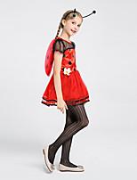 cheap -cross-border explosive costumes cosplay costumes insect seven stars ladybug children's wear princess dress girls' wear halloween