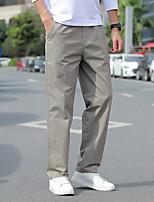 cheap -Men's Hiking Pants Trousers Winter Outdoor Windproof Breathable Sweat wicking Wear Resistance Pants / Trousers Bottoms Navy ArmyGreen Light Grey Dark Gray Fishing Climbing Running L XL 2XL 3XL 4XL