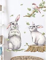 cheap -children's bunny pattern wall sticker