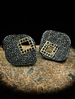 cheap -Women's Earrings Geometrical Totem Series Simple Gothic European Earrings Jewelry Black For Halloween Street Vacation Festival 1 Pair
