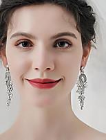 cheap -Women's Stud Earrings Drop Earrings Hoop Earrings Retro Drop Stylish Artistic Simple Vintage Sweet Earrings Jewelry Silver For Party Gift Holiday Engagement Festival 2pcs
