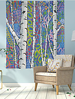 cheap -Tropical Birch Tree Wall Tapestry Art Decor Blanket Curtain Hanging Home Bedroom Living Room Decoration Polyester