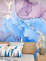 cheap -Mural Wallpaper Wall Sticker Covering Print Custom Peel and Stick Removable Self Adhesive Powder Blue Marble PVC / Vinyl Home Decor