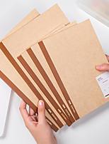 cheap -Kraft paper Journal Notebook back to school gift office Diary Planner Agenda Sketchbook Suitable