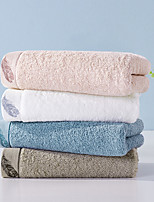 cheap -1 Pc Cotton Blend Hand Kitchen Shower Towel(Set) Machine Washable Super Soft Highly Absorbent Quick Dry For Bathroom Hotel Spa Solid 34*72cm
