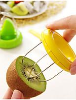 cheap -Kiwi Slicer Cutter Kiwi Peeler Kiwi Dicer Portable Kitchen Gadgets