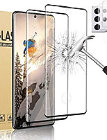 """cheap -galaxy s21 ultra screen protector tempered glass,camera lens protector [touch sensitive][fingerprint support][9h hardenss][no bubbles] for samsuny galaxy s21 ultra 5g (6.8"""")[2+2]"""