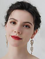 cheap -Women's Stud Earrings Drop Earrings Hoop Earrings Retro Drop Stylish Artistic Simple Vintage Sweet Imitation Pearl Earrings Jewelry Gold For Party Wedding Holiday Engagement Festival 2pcs