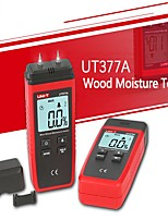 cheap -UNI-T UT377A Digital Wood Moisture Meter Hygrometer Humidity Tester for Paper Plywood Wooden Materials LCD Backlight