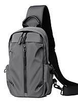cheap -USB Charging  Crossbody Bag Anti-theft Chest Pack Summer Short Trip Messengers Bag Water Repellent Shoulder Bag