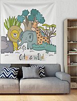 cheap -Cartoon Wall Tapestry Art Decor Blanket Curtain Hanging Home Bedroom Living Room Decoration Polyester Cute Animals