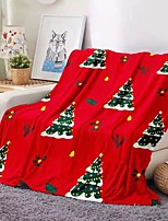 cheap -Aliexpress Amazon Christmas Foreign Trade Hot Sale Digital Printing Double-sided Flannel Blanket