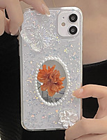 cheap -Phone Case For Apple Back Cover iPhone 12 Pro Max 11 SE 2020 X XR XS Max 8 7 Shockproof Dustproof Butterfly Glitter Shine TPU