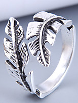 cheap -Ring Retro Silver Alloy Leaf Vintage One Size / Women's / Open Cuff Ring