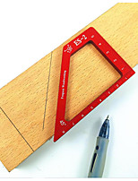 cheap -Woodworking Aluminum Alloy Scriber Right Angle and Half Angle Ruler Measuring Tool Woodworking Scriber