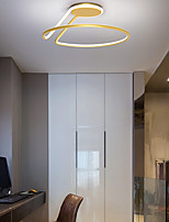 cheap -LED Ceiling Light 52 cm Circle Design Geometric Shapes Flush Mount Lights Acrylic Artistic Style Modern Style Industrial Gold Modern Nordic Style 220-240V