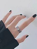 cheap -Ring Retro Silver Copper Star Laugh Fashion Vintage European 1pc One Size / Women's / Open Cuff Ring