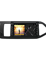 cheap -Android 9.0 Autoradio Car Navigation Stereo Multimedia Player GPS Radio 8 inch IPS Touch Screen for Kia Morning left-hand drive 2011-2016 1G Ram 32G ROM Support iOS System Carplay