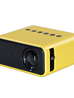 cheap -Factory Outlet YZ03 LED Mini Projector Built-in speaker Sync Smartphone Screen 320x240 6500 lm Compatible with USB TF