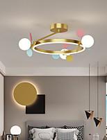 cheap -LED Ceiling Light 50/60 cm Circle Design Flush Mount Lights Metal Artistic Style Modern Style Stylish Painted Finishes LED Modern 220-240V