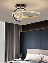 cheap -LED Ceiling Light New Modern Simple Room Lamp Nordic Black Gold Net Red Creative Master Bedroom Led Ceiling Lamp