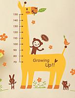 cheap -Creative Diy Cartoon Children'S Room Can Remove Wall Stickers Cartoon Giraffe Height Stick Cat Height 50*70cm