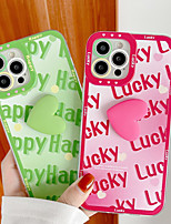 cheap -Phone Case For Apple Back Cover iPhone 12 Pro Max 11 X XR XS Max iphone 7Plus / 8Plus Shockproof Dustproof Word / Phrase TPU