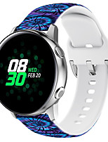 cheap -Smart Watch Band for Samsung Galaxy Huawei Xiaomi 1 pcs Sport Band Silicone Replacement  Wrist Strap for Fitbit ionic Huawei Watch 2 Huami Amazfit Pace Watch Huami Amazfit Stratos Smart Watch 2/2S