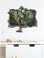 cheap -dinosaur pattern children wall sticker