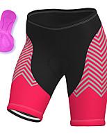 cheap -21Grams Women's Cycling Shorts Summer Spandex Bike Padded Shorts / Chamois Quick Dry Moisture Wicking Sports Rose Red Mountain Bike MTB Road Bike Cycling Clothing Apparel Bike Wear / Stretchy