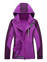 cheap -Women's Hiking 3-in-1 Jackets Ski Jacket Hiking Fleece Jacket Polar Fleece Winter Outdoor Thermal Warm Waterproof Windproof Quick Dry Outerwear Winter Jacket Trench Coat Skiing Ski / Snowboard Fishing