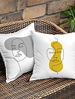 cheap -Double Side Cushion Cover 2PCS/SET Soft Decorative Square Throw Pillow Cover Cushion Case Pillowcase for Sofa Bedroom Superior Quality Machine Washable