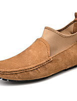 cheap -Men's Loafers & Slip-Ons Daily PU Non-slipping Gray Khaki Black Fall Winter