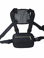 cheap -men women chest rig bag hip hop streetwear waist bag adjustable tactical chest bags fanny pack streetwear waist packs, functional waist packs