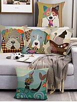 cheap -Double Side Cushion Cover 5PC/set Soft Decorative Square Throw Pillow Cover Cushion Case Pillowcase for Sofa Bedroom Superior Quality Machine Washable