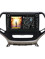cheap -Android 9.0 Autoradio Car Navigation Stereo Multimedia Player GPS Radio 8 inch IPS Touch Screen for Jeep Cherokee 2014-2017 1G Ram 32G ROM Support iOS System Carplay