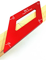 cheap -Aluminum Alloy Angle Ruler Woodworking Scriber Woodworking Measuring Tool Woodworking Scriber 45 Degree Scriber