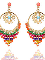 cheap -Women's Earrings Fashion Classic Earrings Jewelry Rainbow color For Street 1 Pair