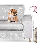 cheap -Couch Cover Pets Scratching Sofa Protector Heavy Duty Waterproof See-Through Plastic Slipcover for Cushion Couch