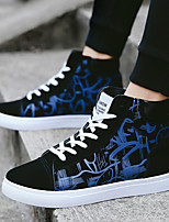 cheap -Men's Sneakers Vintage British Daily Office & Career Suede Non-slipping Wear Proof Dark Red Black Dark Blue Fall Spring